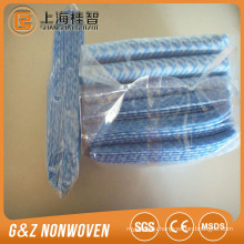 45g 29*33CM 70% viscose 30% Polyester spunlace nonwoven cleaning wipe rolls/magic cloths